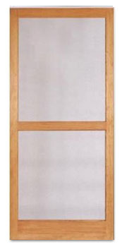 wood screen doors Pella IA
