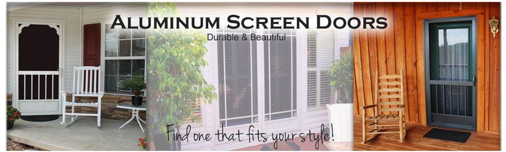 Aluminum Storm Door aluminum screen doors - best screen doors - front screen doors