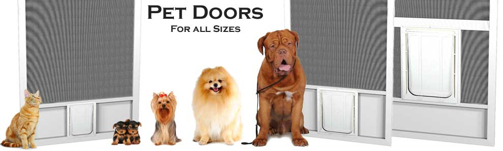 pet door for screen doors