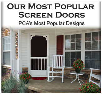 Decorative Screen Doors ...