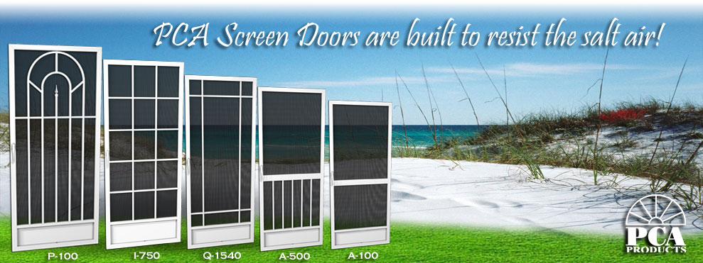the villages screen doors aluminum