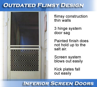 Screen Doors Hawaii Honolulu Screen Doors Aluminum Pca Products