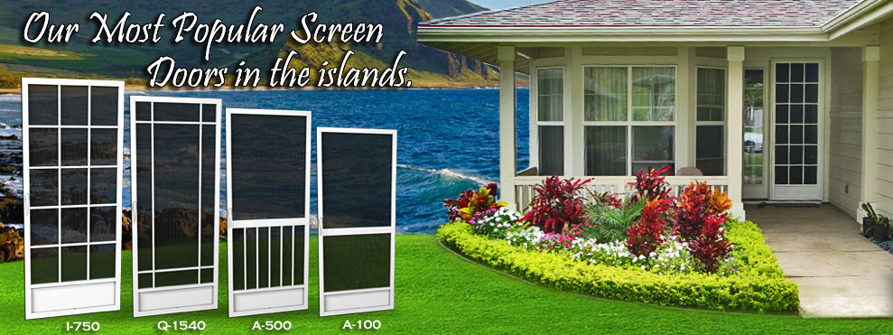 screen doors maui Hawaii best screen doors, company