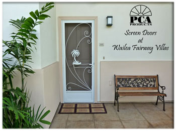rust free screen doors Kapaa, Lihue, Kauai Hawaii,